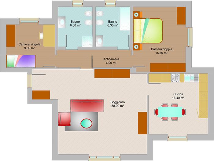 Costi ristrutturazione appartamento trilocale provincia varese - Costi ristrutturazione casa 130 mq ...